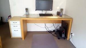 Free IKEA desk and drawers Palm Beach Gold Coast South Preview
