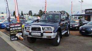 1997 Toyota Landcruiser FZJ80R GXL Automatic Wagon Mount Druitt Blacktown Area Preview