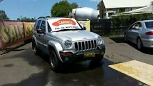 2004 Jeep Cherokee KJ Extreme Sport ED Silver 4 Speed Automatic Wagon Campbelltown Campbelltown Area Preview