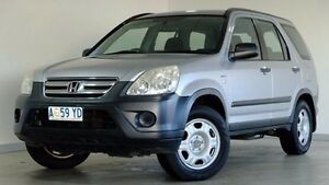 2005 Honda CR-V RD MY2005 4WD Silver 5 Speed Manual Wagon Hobart CBD Hobart City Preview