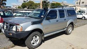 2003 Nissan Navara D22 ST-R (4x4) Silver 5 Speed Manual Dual Cab Pick-up Maidstone Maribyrnong Area Preview