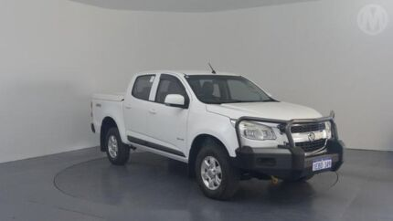 2012 Holden Colorado RG LX (4x4) Summit White 5 Speed Manual Crew Cab Pickup Perth Airport Belmont Area Preview