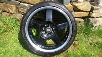 "17"" Motegi Racing Rims - Black"