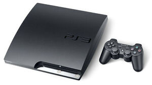 PS3 Slim 500 GB with 10 games and 1 controller