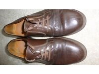 Vintage Men's shoes - Brown casual by Ravel