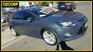 2013 Ford Focus LW MK2 Titanium Grey 6 Speed Automatic Hatchback Homebush Strathfield Area Preview