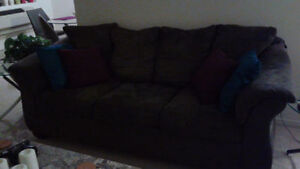 Couch- make an offer, need gone ASAP!