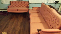 MAKE AN OFFER - BEAUTIFUL VINTAGE SOFAS