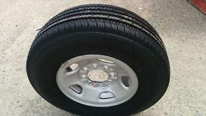 NEW 4 x LT 245/75R16 Bridgestone all season tires on GM rims