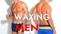 Men's Back or Chest Wax only $49.00