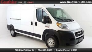2019 Ram ProMaster Cargo Van 3500 HIGH RF 159, Double Pass. Seat