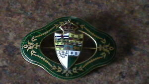 Old Coat of Arms Brooch