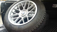 "17""BMW 7 Series / X3 winter set w/ Dunlop WinterSport 3D tires"