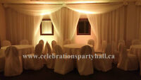 Party Hall available for Parties & Events