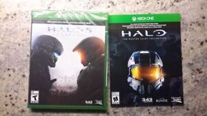 Halo 5 and Halo the Master Chief Collection new in wrapper!!