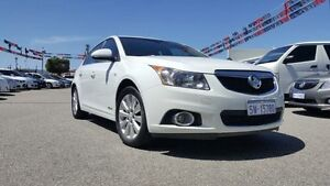 2012 Holden Cruze JH MY12 CDX Heron White 6 Speed Automatic Hatchback Maddington Gosnells Area Preview