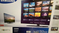 """Brand new 50"""" Samsung Smart LED TV includes delivery"""