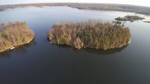 2.5 Acre Island on Cranberry Lake!