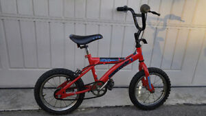 """Red Boy's Supercycle XR 14 Bike Bicycle - 14"""" Wheels"""