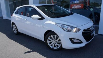2014 Hyundai i30 GD MY14 Active Creamy White 6 Speed Automatic Hatchback Port Macquarie Port Macquarie City Preview