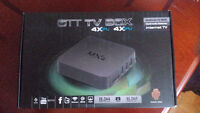 QUAD CORE Android TV Box with 8GB Storage - FREE MOVIES AND TV!!