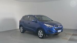 2014 Hyundai ix35 LM3 MY14 Active Blue Berry 6 Speed Sports Automatic Wagon Perth Airport Belmont Area Preview