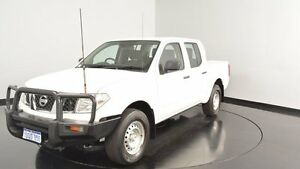 2011 Nissan Navara D40 RX White 6 Speed Manual Utility Welshpool Canning Area Preview