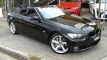 2007 BMW 335i E93 Black 6 Speed Steptronic Convertible Homebush Strathfield Area Preview