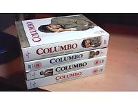 COLUMBO - SEASONS 1-4 COMPLETE-FOUR BOX SETS-17 x DVD'S
