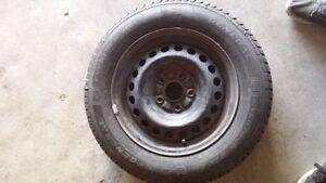 4 pneus d ete neufs sur rims pour honda civic entre 2006 et 2015