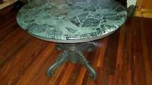 **EOFY SALE 50% OFF**Antique Hall Entrance Dining Table w/ Marble Chermside West Brisbane North East Preview