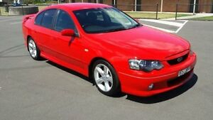 2005 Ford Falcon BA MkII XR6 Red 4 Speed Auto Seq Sportshift Sedan Revesby Bankstown Area Preview