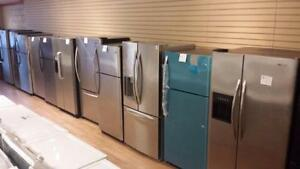 refrigérateur stailess ge profile 299$