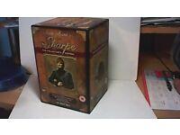 SHARPE COMPLETE SERIES 15 DISC DVD BOX SET & MAP & BOOKLET-SEAN BEAN
