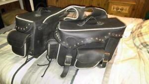 THROW OVER MOTORCYCLE SADDLEBAGS