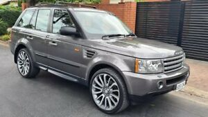 2007 Land Rover Range Rover Sport 4.4 V8 Grey 6 Speed Auto Sequential Wagon Prospect Prospect Area Preview