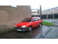 FORD ESCORT MK5 SPARES REPAIRS IDEAL PROJECT