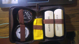 Shoe Shining Kit, literally Only Used Once!