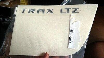 "Genuine 13~15 Chevrolet ""TRAX LTZ"" Rear Trunk Script letters Emblem"