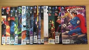 Superman Comic Books (38-52, 1-4) Greystanes Parramatta Area Preview