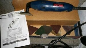 RYOBI SANDING DS 1000 USED ONCE PERFECT CONDITION