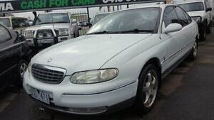 1999 Holden Statesman WH White 4 Speed Automatic Sedan Cheltenham Kingston Area Preview