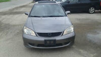 2005 Honda Civic Coupe (2 door) safety/etested