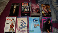 $20 for all or $2 for each - 27 VHS Adult and Kid Movies
