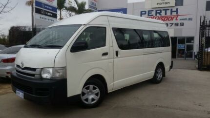 2009 Toyota Hiace KDH223R MY07 Upgrade Commuter French Vanilla 5 Speed Manual Bus Beckenham Gosnells Area Preview
