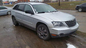 2006 Chrysler Pacifica Fully loaded 147000 km