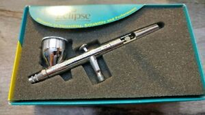 Iwata Eclipse HP Dual stage airbrush complete setup