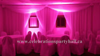 Party Hall available for Diwali & Christmas Parties