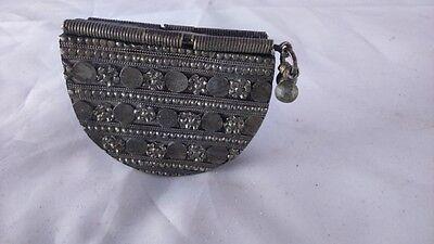 Old wallet Tibet. Ancien porte feuille Tibet