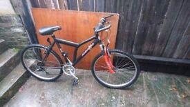 Ammaco front suspension mountain bike